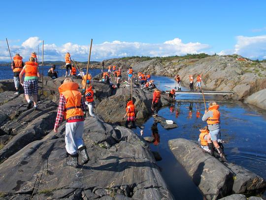 Shore excursion at Nansen Coast Camp in Krisitiansand