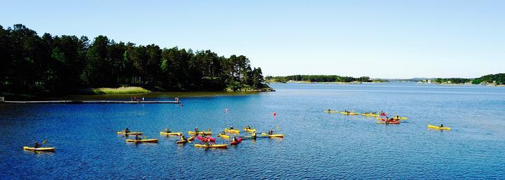 Kayak at Nansen Coast Camp in Arendal
